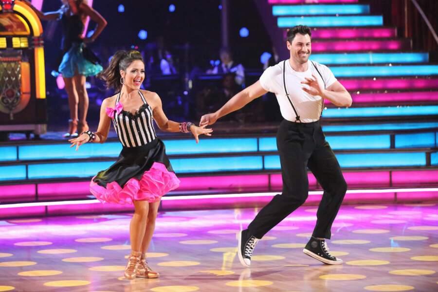 En 2014, elle a participé à la saison 18 de Dancing With the Stars aux Etats-Unis