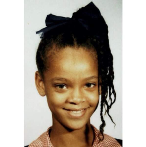 Comme elle avait l'air sage quand elle était petite...
