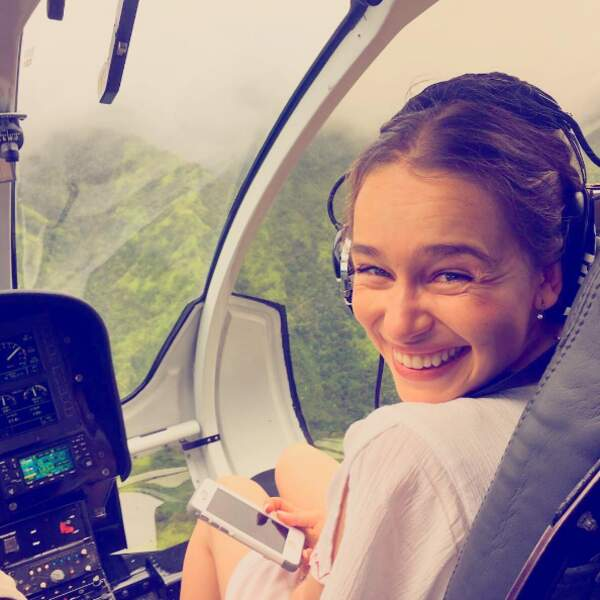 Et Emilia Clarke à Hawaii !