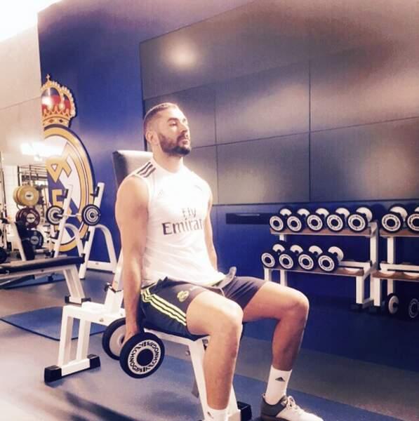 Karim Benzema fait trembler la fonte.