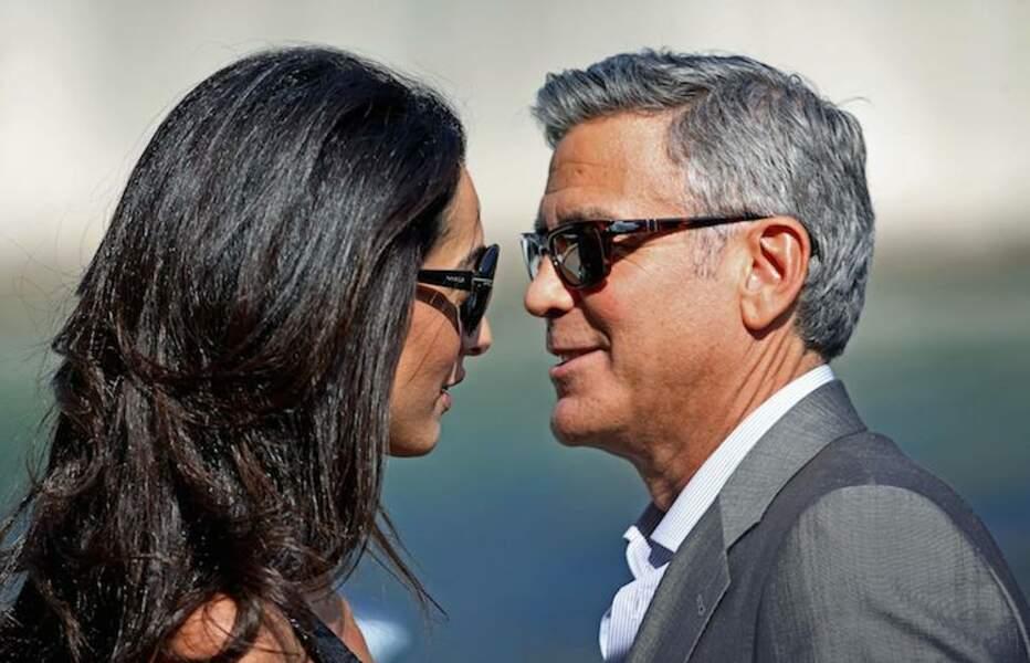 George Clooney et Amal Alamuddin, en pleine répétition avant de se dire oui ?