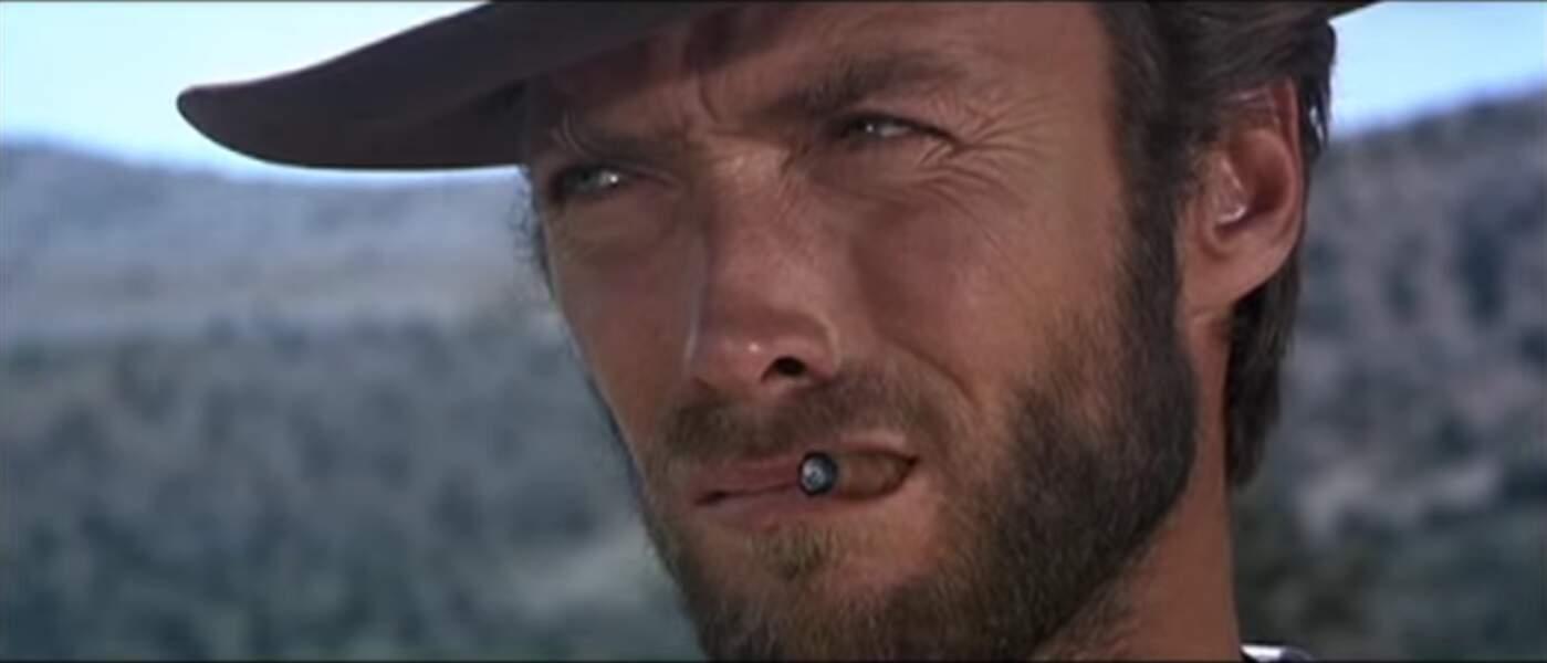 Clint Eastwood dans Le Bon, la Brute et le Truand