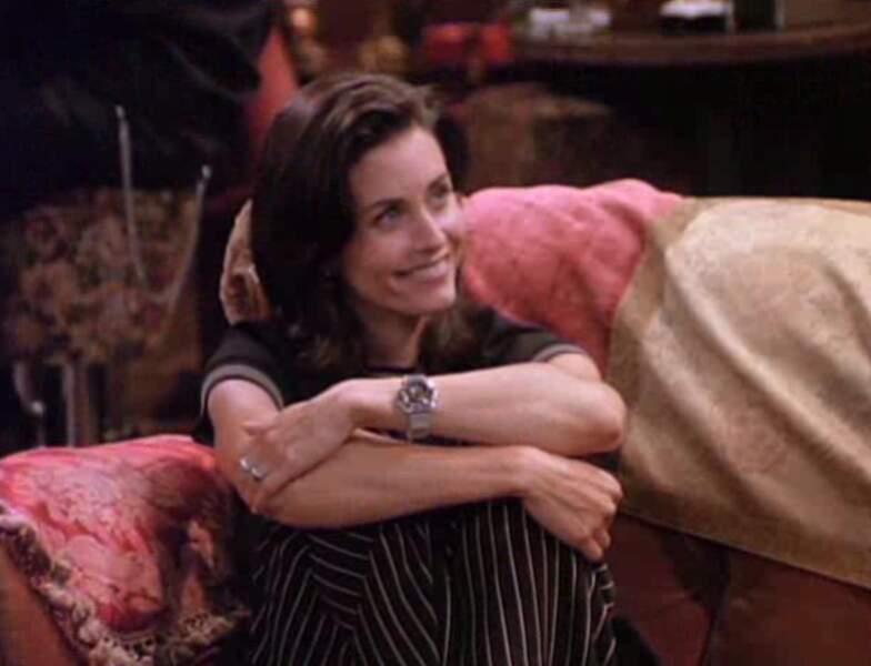 Cinq ans après le début de la série, Monica a raffraichi sa coupe !