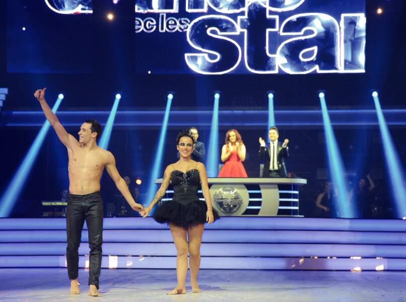 Alizée et Grégoire Lyonnet à la première de la tournée Danse avec les stars à Bercy