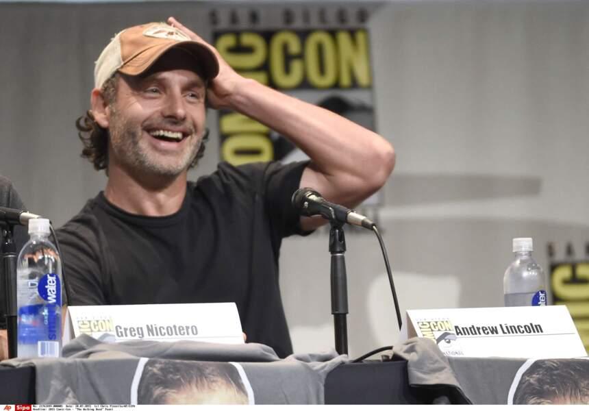 Andrew Lincoln, la star de The Walking Dead !