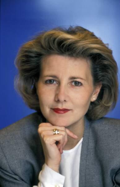 1991 : Claire Chazal débarque à la présentation de l'actualité sur TF1