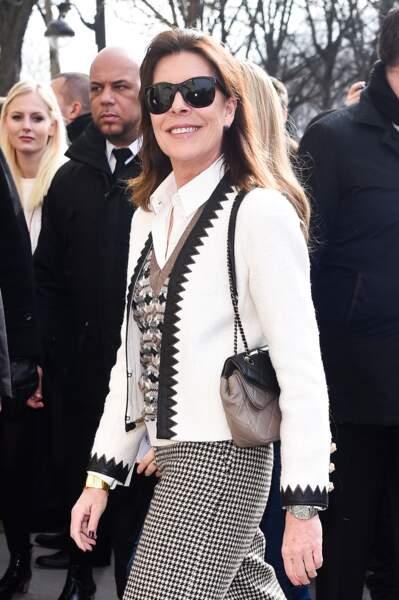 Caroline de Monaco, toute heureuse de quitter le rocher pour la capitale française