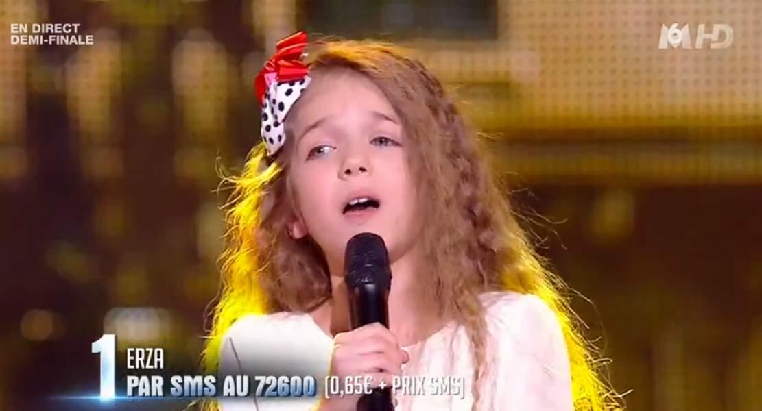 Vous aviez fait sa connaissance dans La France a un incroyable talent, en 2015, où elle était arrivée en finale.
