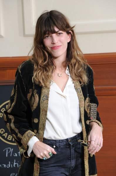 Lou Doillon, fille de Jane Birkin, née le 4 septembre 1982