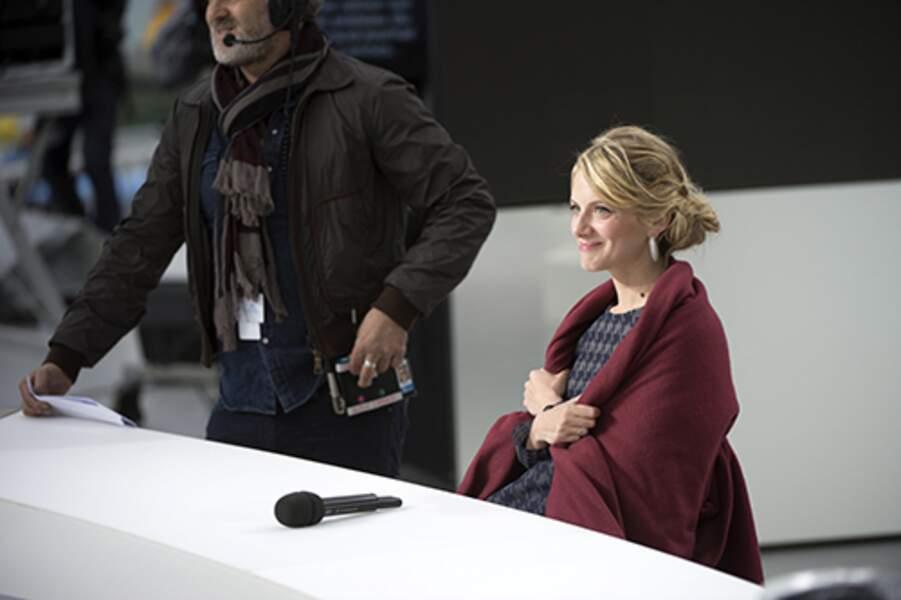 Coup de froid pour Mélanie Laurent sur le plateau du Grand Journal à Cannes