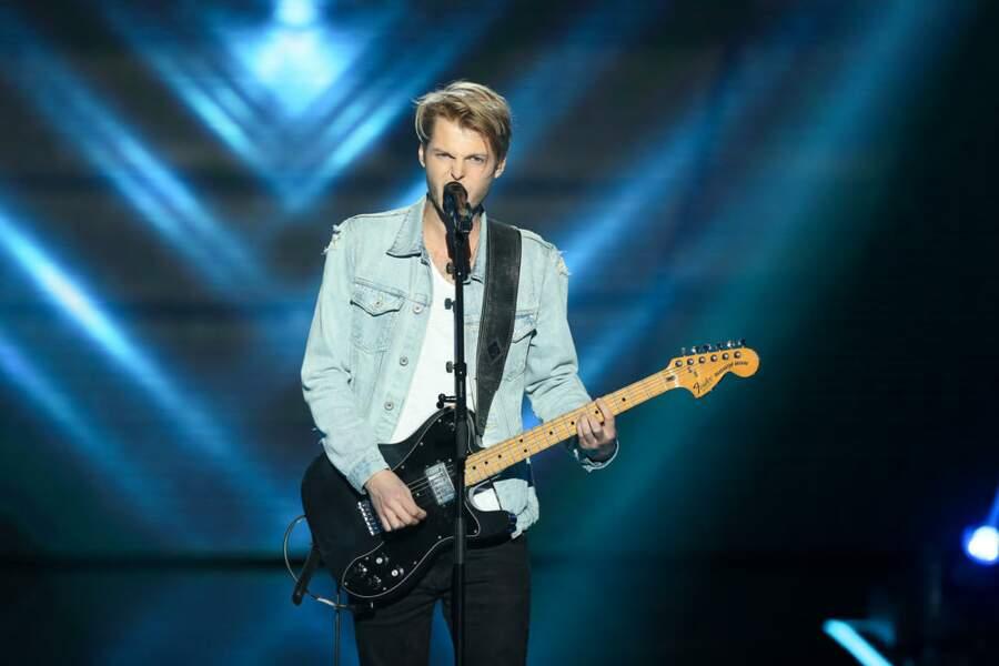 Equipe Zazie : Matthieu, jeune rockeur étonnant, sera aux live