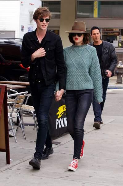 L'actrice Dakota Johnson et Matthew Hitt, en couple depuis 2014.