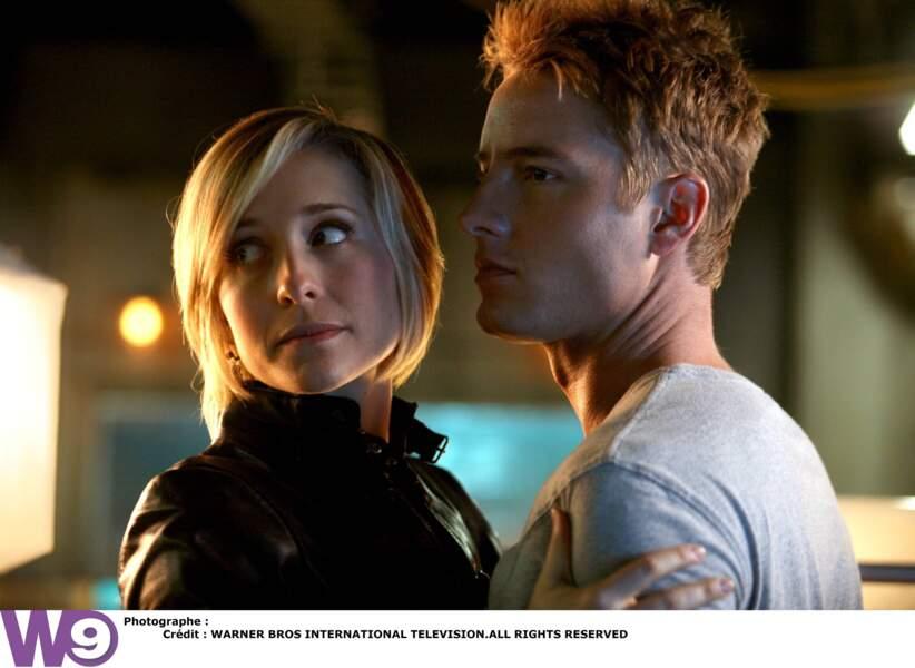 Elle est longtemps amoureuse du jeune homme mais finit par l'oublier dans les bras d'Oliver !