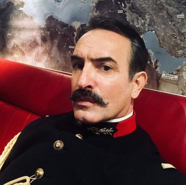 Et Jean Dujardin a adopté la moustache pour le prochain film de Polanski.
