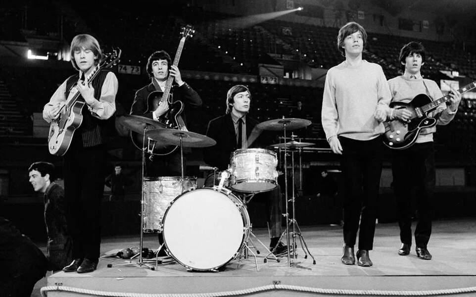 Les Rollings Stones en avril 1964