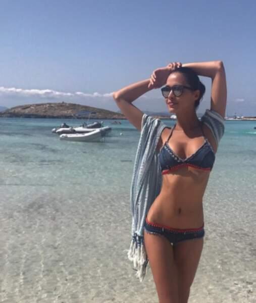 Tout comme Leila Ben Khalifa à Formentera.