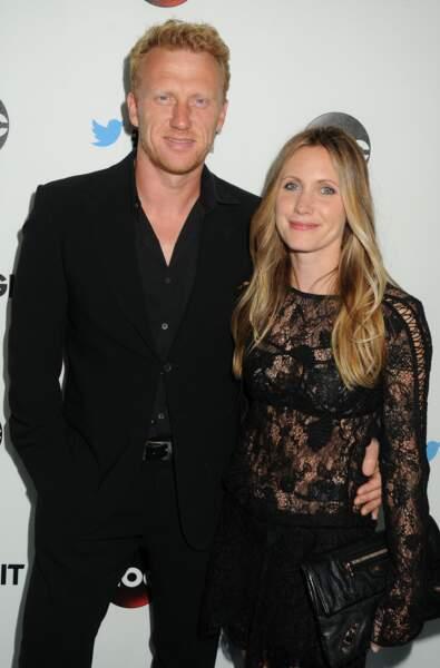 Kevin McKidd et Jane Parker, mariés depuis 1999.