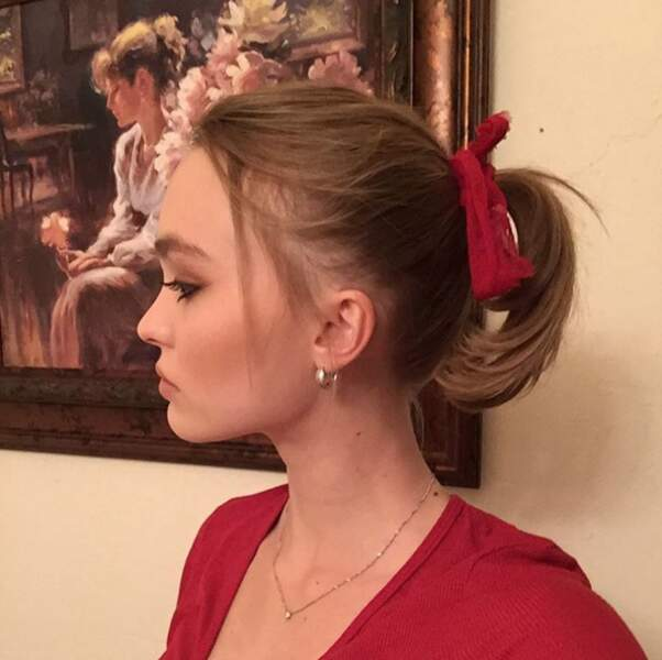 En parlant de famille, encore une preuve que Lily-Rose est le sosie de sa maman, Vanessa Paradis.