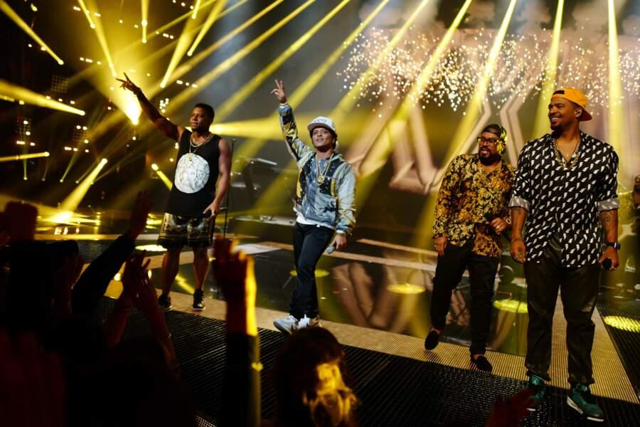 2016, Bruno Mars électrise le Palais des festivals