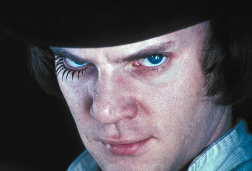 Malcolm McDowell dans Orange Mécanique