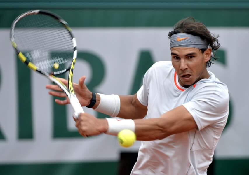 Rafael Nadal s'est tout de même imposé (4-6, 7-6(4), 6-4, 6-3) face à l'Allemand Daniel Brands