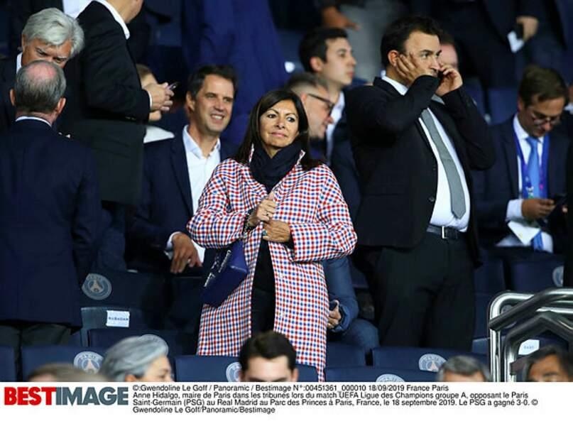 Anne Hidalgo fière des parisiens