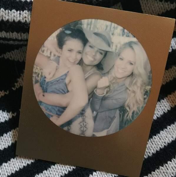 Nina Dobrev serait-elle nostalgique de Vampire Diaries ?