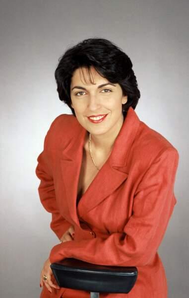 La journaliste Ruth Elkrief arrive à TF1 en 1987 et devient correspondante aux USA en 1990