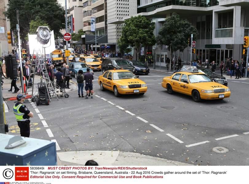 Brisbane en Australie a été transformée en mini New-York pour le tournage du film