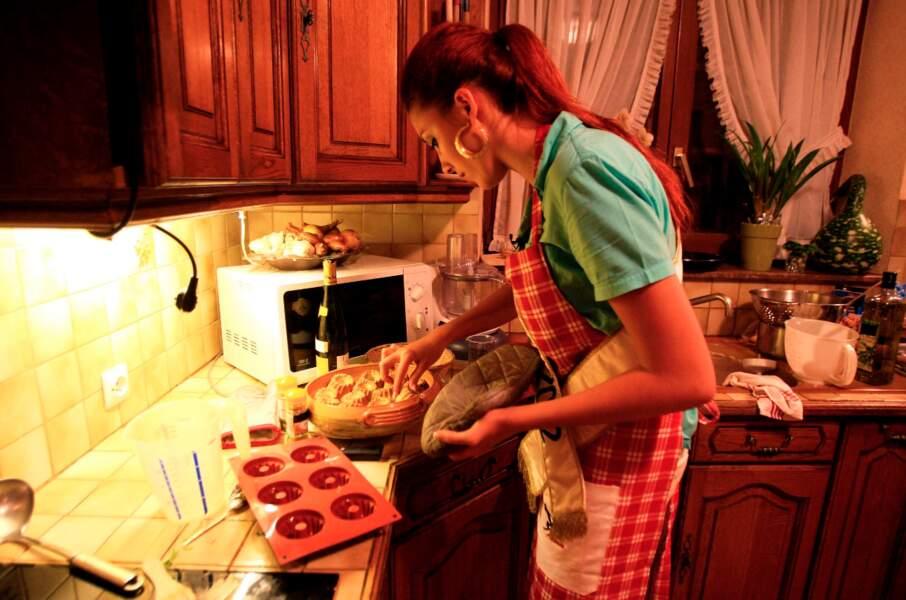 La rousse tentera de séduire avec une cuisine sans viande ni poisson