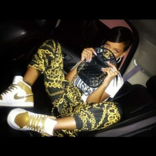 Rihanna est une fille en or !