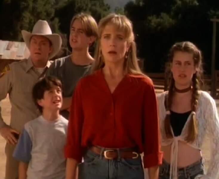 La jolie petite famille de Harts of the west (avec Sean Murray au fond)