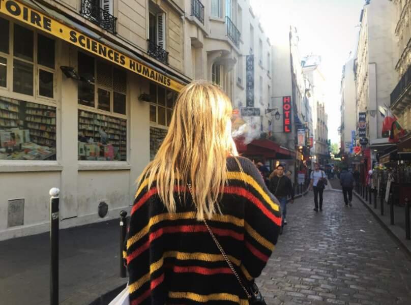 Les rues de Paris sont belles, même de dos