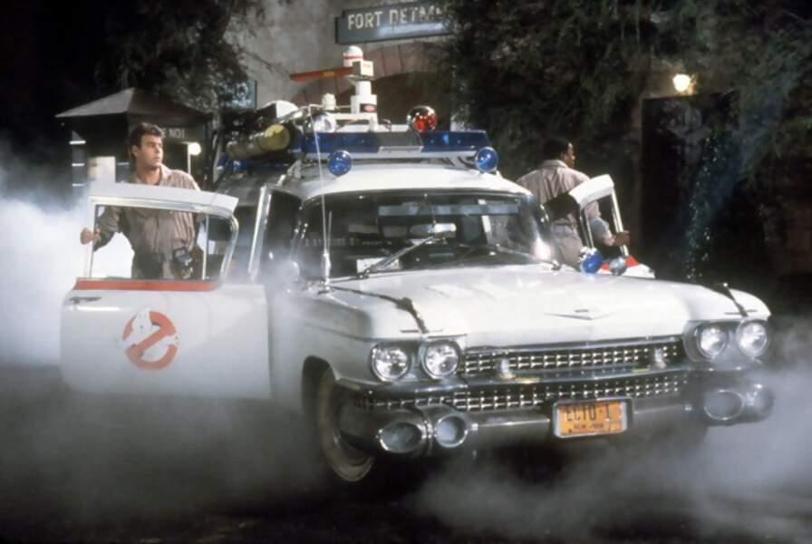 "Le camion ""attaque fantômes"" de SOS fantômes"