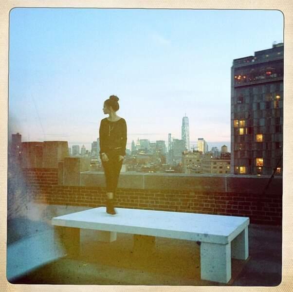 On termine par Selena Gomez à New York