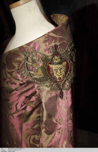Détail de la robe de Cersei