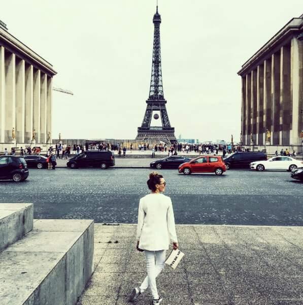 Katie Cassidy (Arrow) a succombé aux charmes de Paris