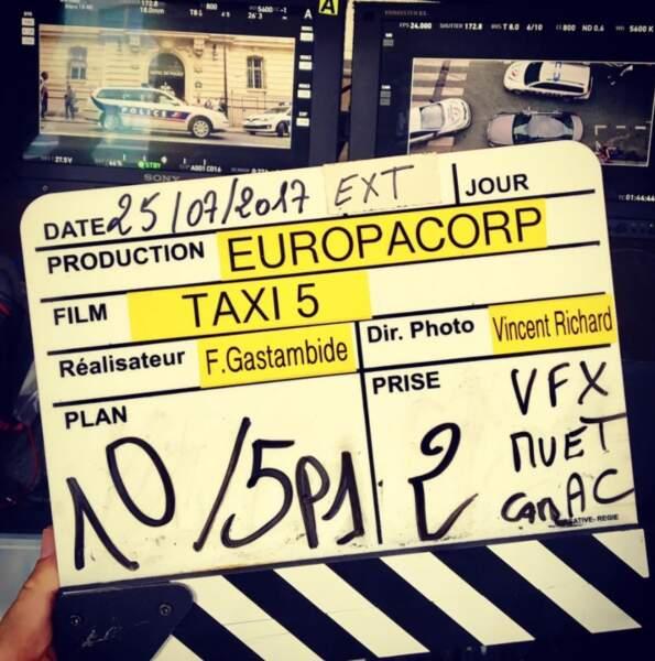 C'est parti pour Taxi 5 !