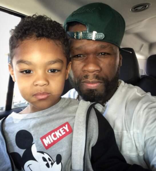 Trop mignon : voici Sire Jackson, fils de 50 Cent.