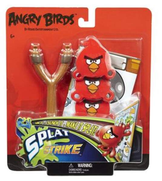 Splat Strike Angry Birds