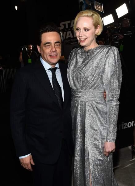 Benicio del Toro et Gwendoline Christie (vu dans GOT), deux second rôles de cette nouvelle saga