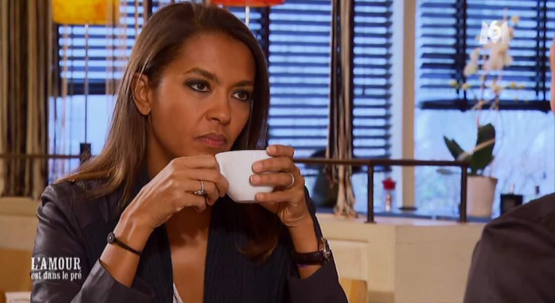 Karine Le Marchand s'entraîne pour une pub avec George Clooney.