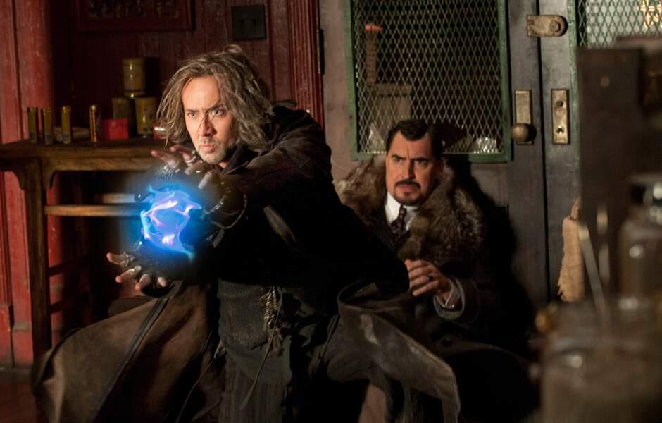 Super-pouvoirs et cheveux gras dans L'apprenti sorcier (2009)