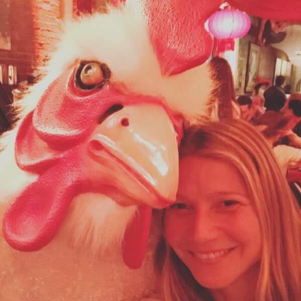 Gwyneth Paltrow et nous-mêmes vous souhaitons une très bonne année du Coq.
