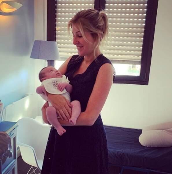 Amanda Sthers est devenue tata d'un petit Jacob.