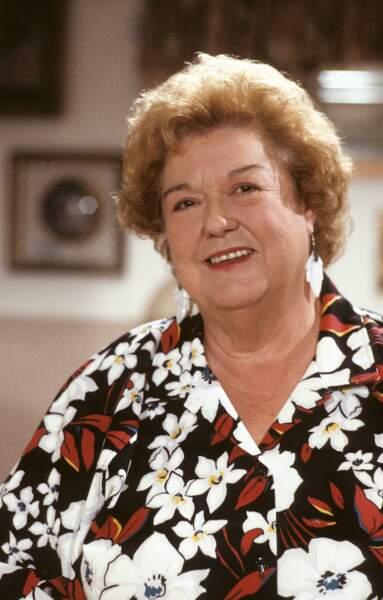 Peggy Rea interprétait Ivy.