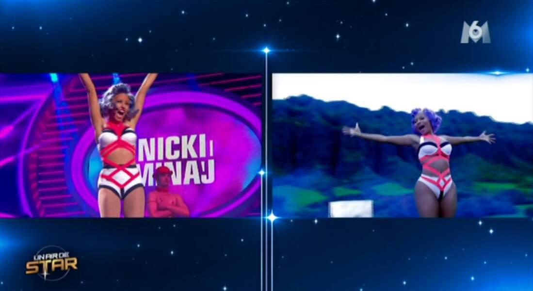 C'est au tour de Natasha St Pier. Après Nicki Minaj, on a hâte de connaître son sort...