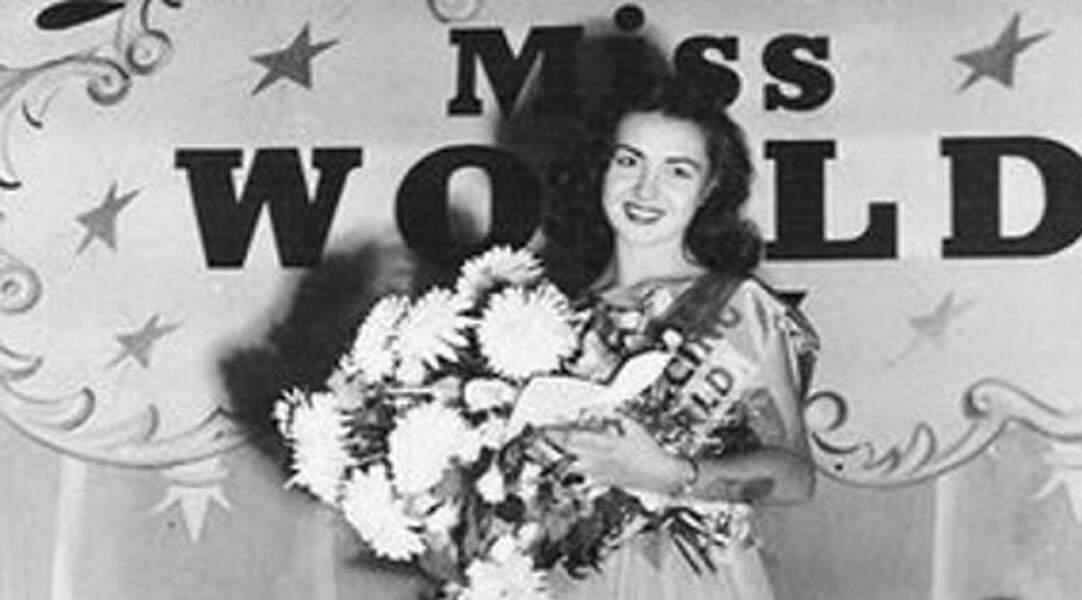 Bien qu'elle ne fut jamais Miss France, Denise Perrier a décroché la couronne de Miss Monde en 1953, à 18 ans !