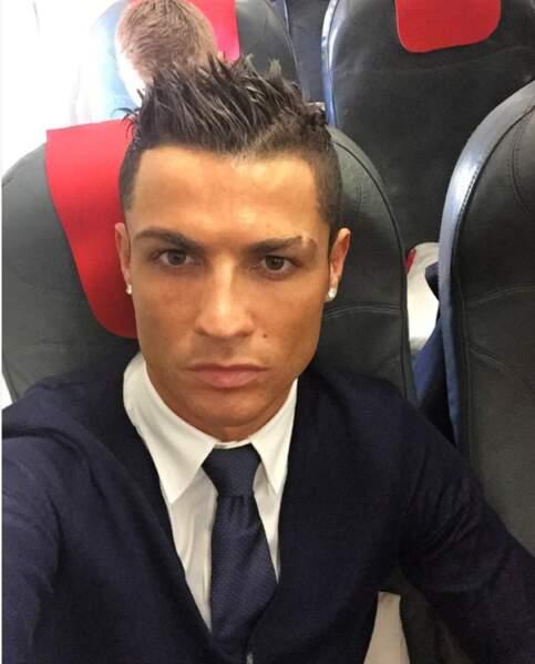 Ronaldo, impeccable niveau style.