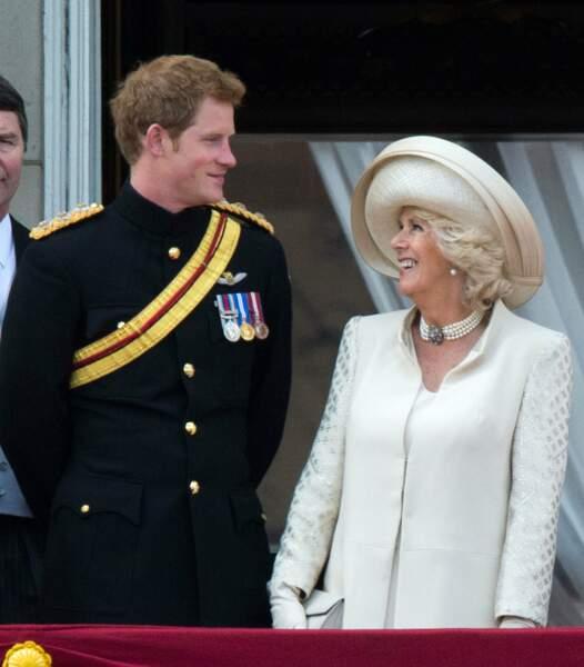Maman Diana n'est plus là mais Camilla, l'épouse de papa, elle est quand même sympa